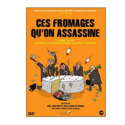 Emission culte – Ces fromages qu'on assassine, reportage animé  par Périco Légasse