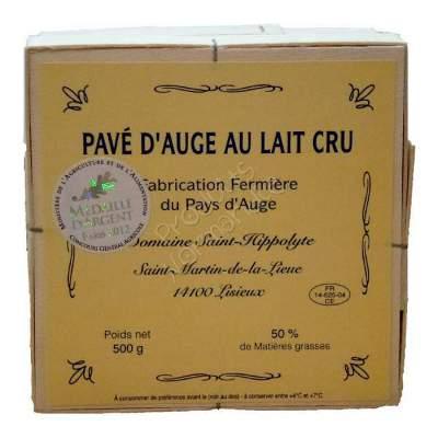 Un excellentissime Petit Pavé d'Auge, fromage fermier au lait cru