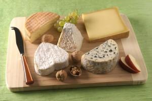 Plateau de fromages classique