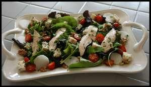 salade de bleu d'auvergne