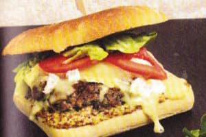 Recette des Burgers à l'estragon et au fromage de brie