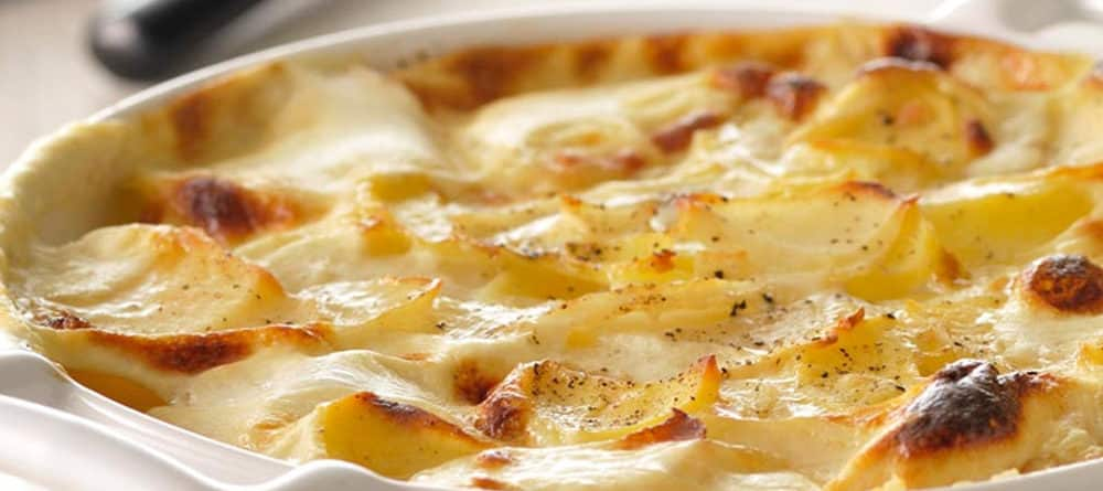 Recette du gratin dauphinois au fromage de Brie