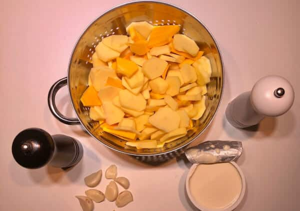 Les ingrédients du gratin dauphinois