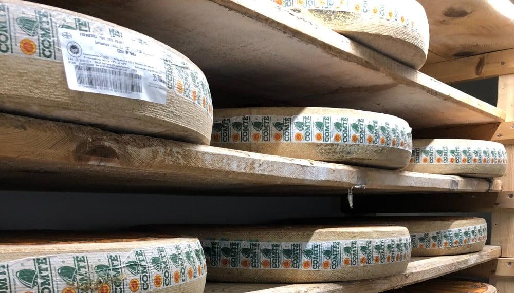 Le compté, fromage de Franche-Comté