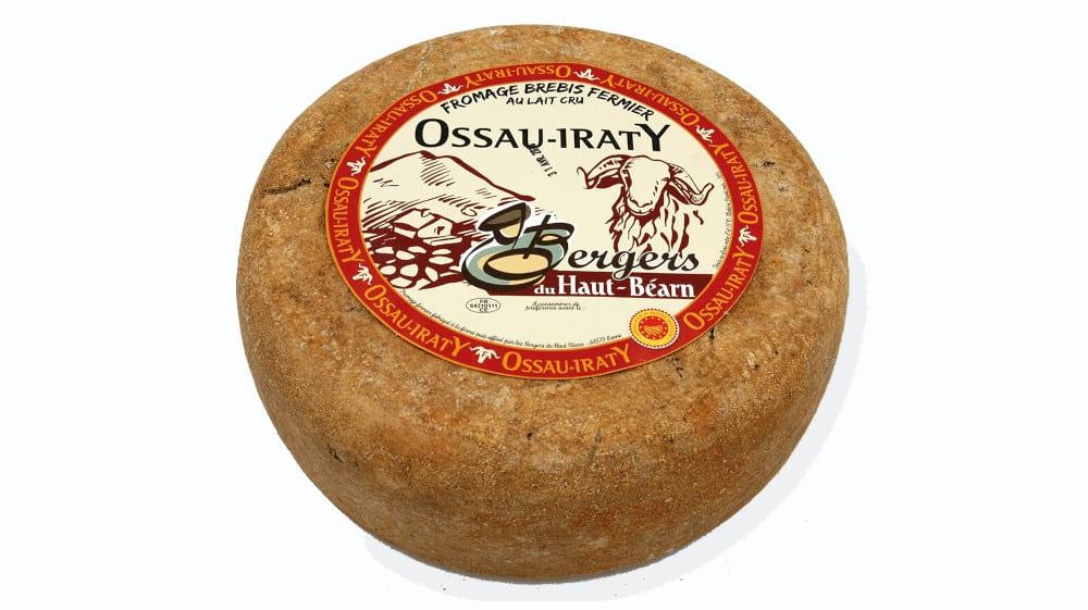L'Ossau-iraty, fromage au lait cru de brebis des Pyrénées